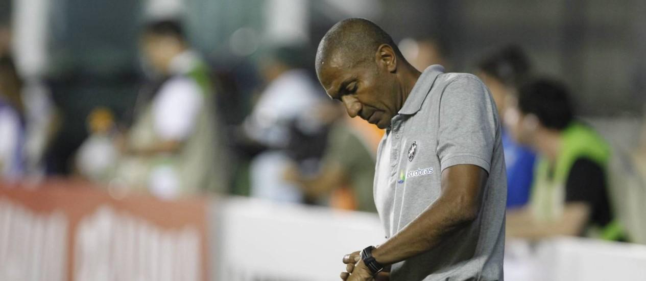 Cristóvão não via a hora de o Vasco voltar à liderança Foto: Thiago Lontra / Agência O Globo