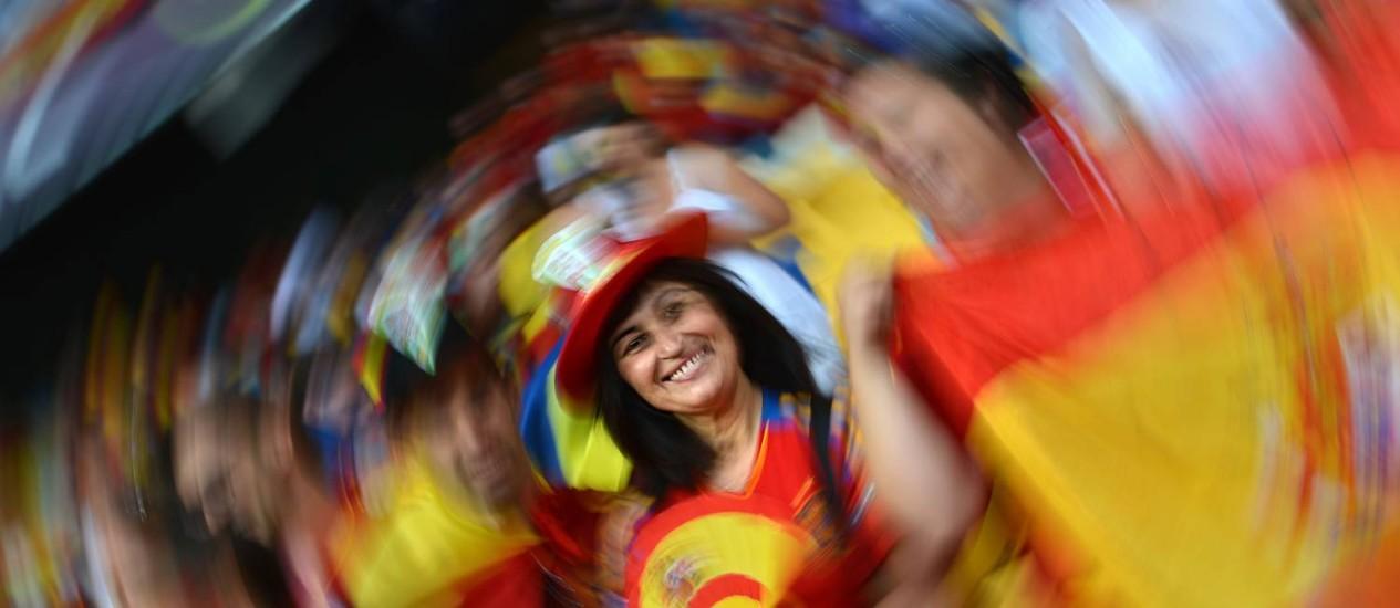 O mundo gira e a Espanha se mantém no topo: campeã europeia em 2008 e mundial em 2010 leva também a Eurocopa de 2012 Foto: AFP