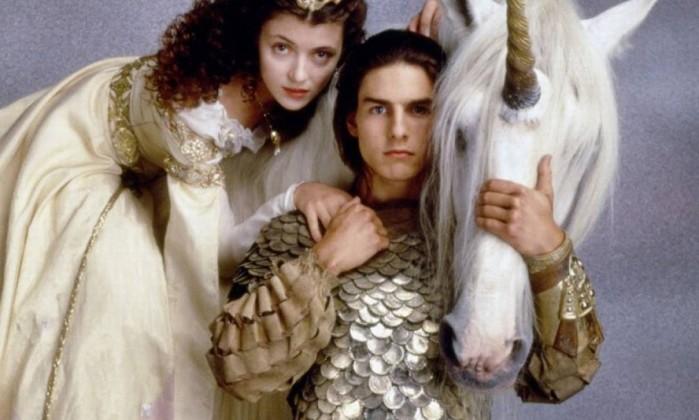 """No ano seguinte, o ator seguiria completando sua coleção de trabalhos com grandes diretores. Depois de Zefirelli e Coppola, em 1986, Tom Cruise se uniu a Ridley Scott na fantasia """"A lenda"""" (""""Legend""""), um de seus muitos clássicos da """"Sessão da tarde"""" Reprodução"""