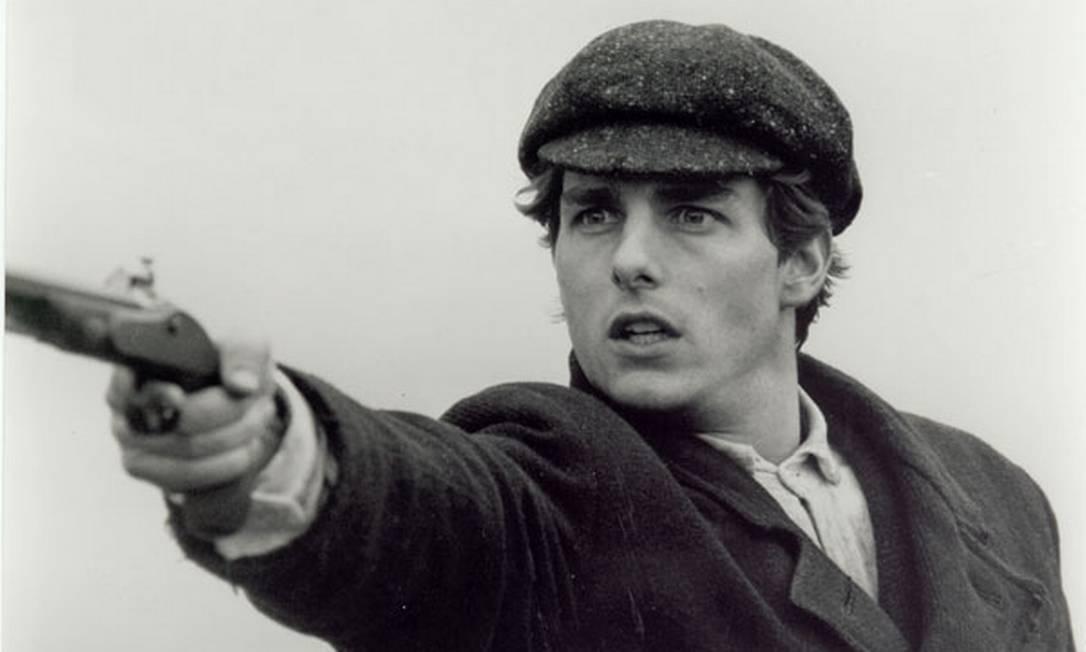 """Em """"Um sonho distante"""" (""""Far and away""""), de Ron Howard, Tom Cruise volta a contracenar com a agora esposa Nicole Kidman. O épico sobre imigrantes irlandeses no século XIX foi mal recebido pela crítica e um fracasso de bilheteria nos EUA. Reprodução"""