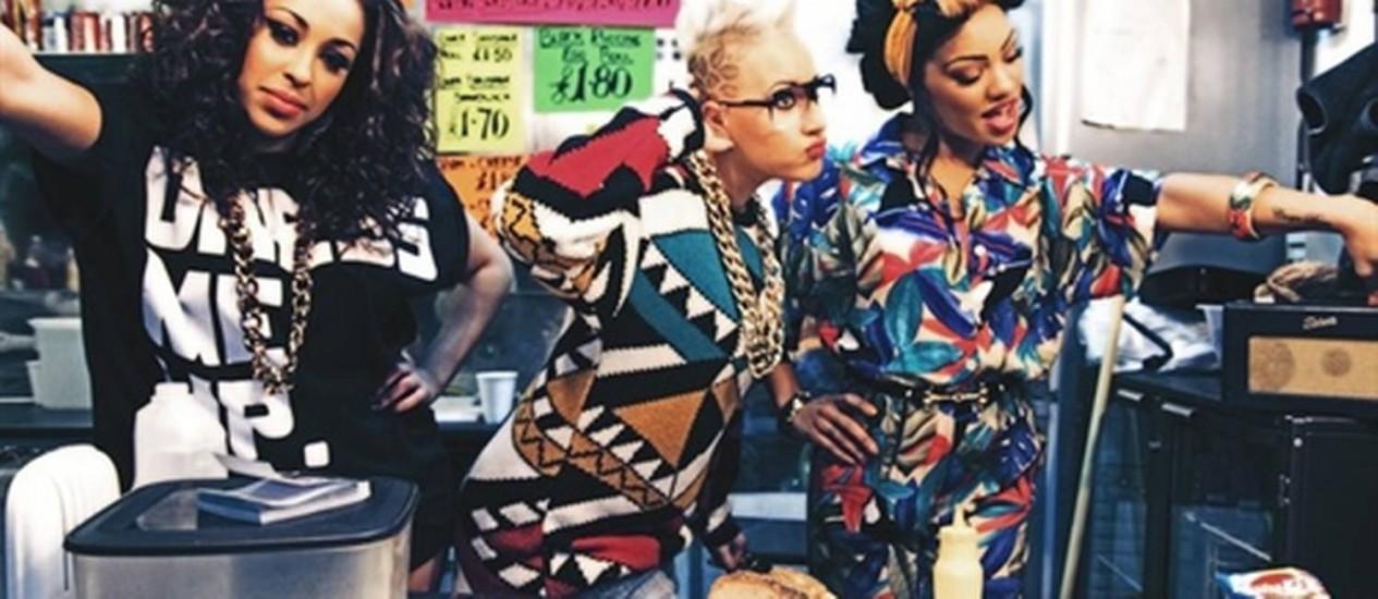 Stooshe: visual mais largadão que as Spice Girls Foto: Divulgação