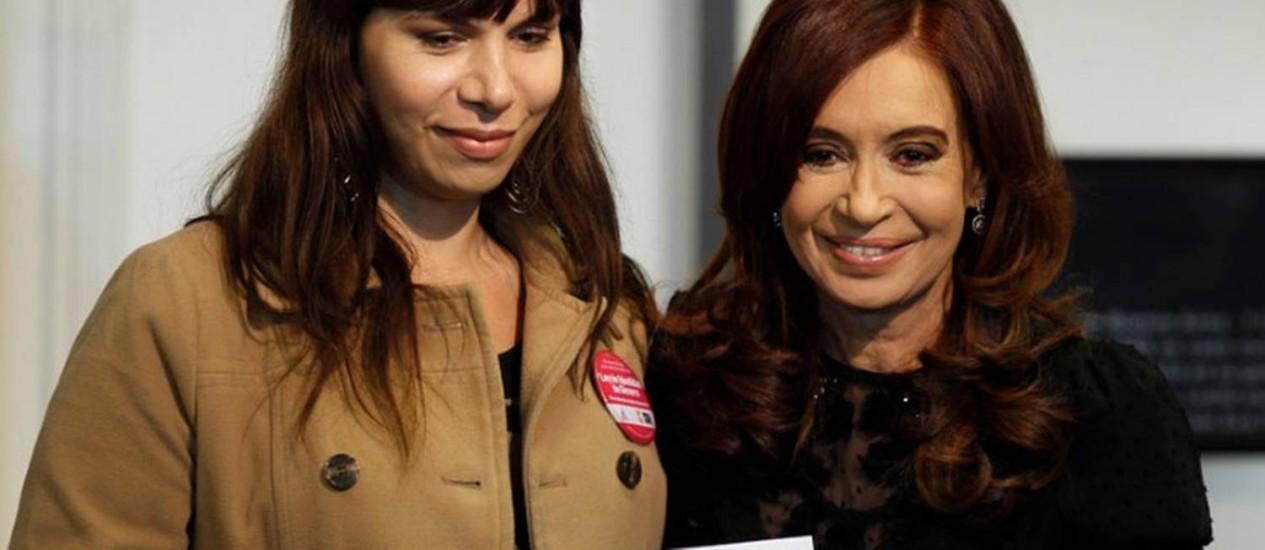 Cristina Kirchner entrega novos documentos de identidade a transexuais na Argentina Foto: La Nación/GDA