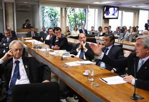 Itamar Franco: relatório de 1994 considera que episódio no Sambódromo afetou credibilidade do então presidente Foto: O Globo / Aitlon de Freitas