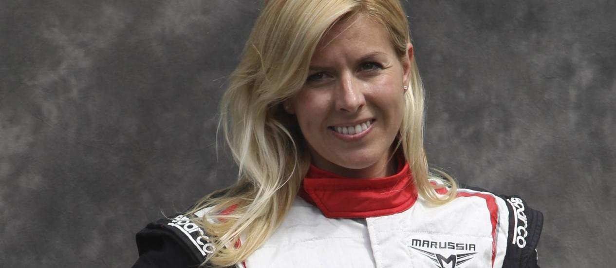 Maria de Villota perdeu o olho direito após o acidente Foto: Rob Griffith / AP
