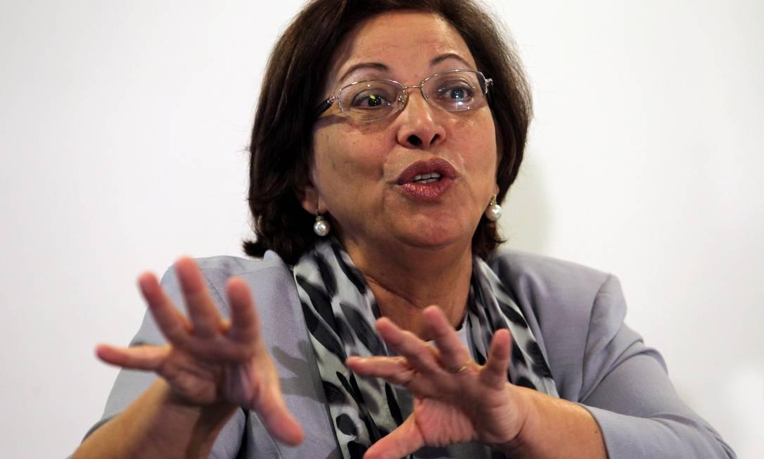 Ministra de Relações Institucionais, Ideli Salvatti Foto: Agência O Globo / Gustavo Miranda