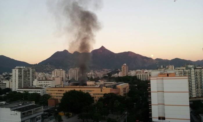 Pacientes vão ser atendidos em hospital de campanha Foto do leitor Marcelo / Eu-Repórter