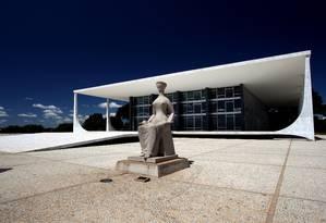 Prédio do Supremo Tribunal Federal em Brasília Foto: Gustavo Miranda/ Arquivo O Globo