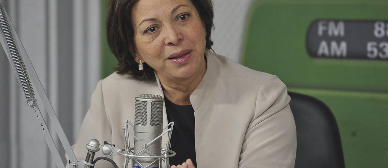 Ministra Ideli Salvatti, ministra das relações institucionais Foto: Agência Brasil