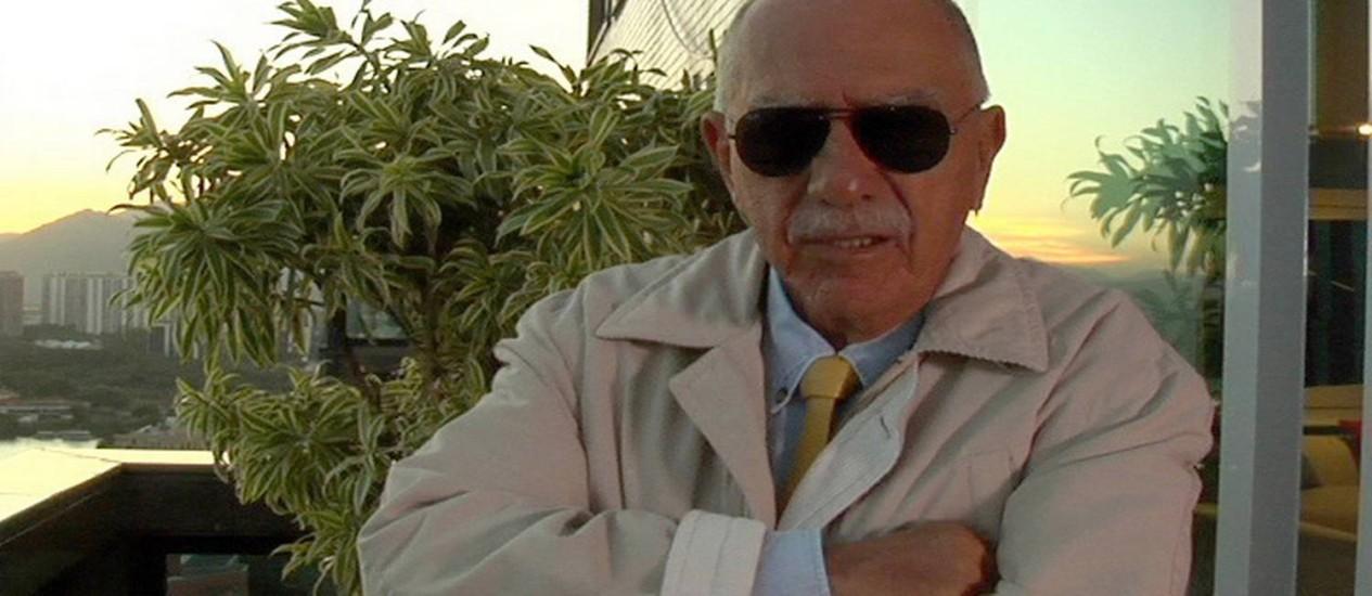 O magistrado João Uchôa Cavalcantti Netto, fundador da Universidade Estácio de Sá, faleceu nesta quinta-feira Foto: Divulgação