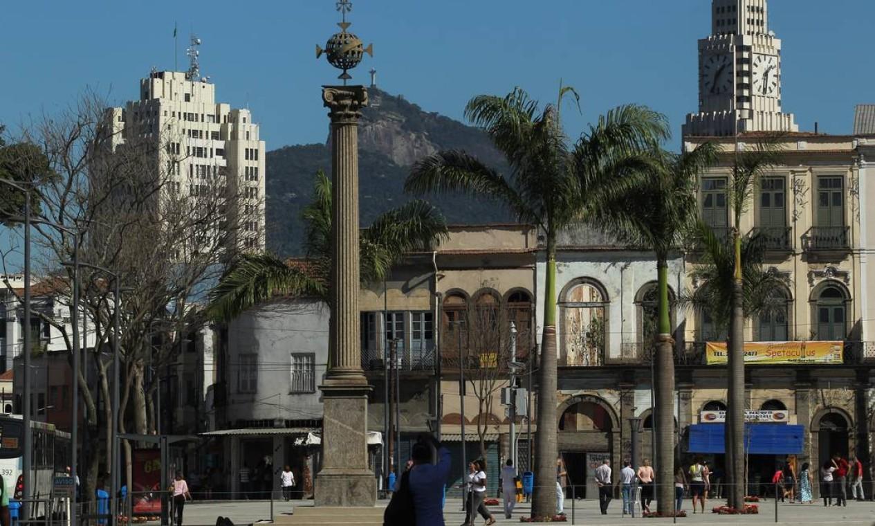Zona Portuária começa a atrair a atenção de turistas e cariocas Foto: Custodio Coimbra / O Globo