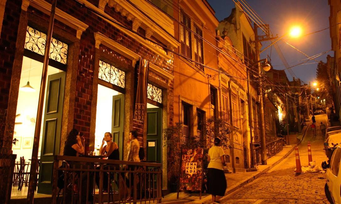 Noite na Zona Portuária ganha vida Foto: Angelo Antônio Duarte / O Globo