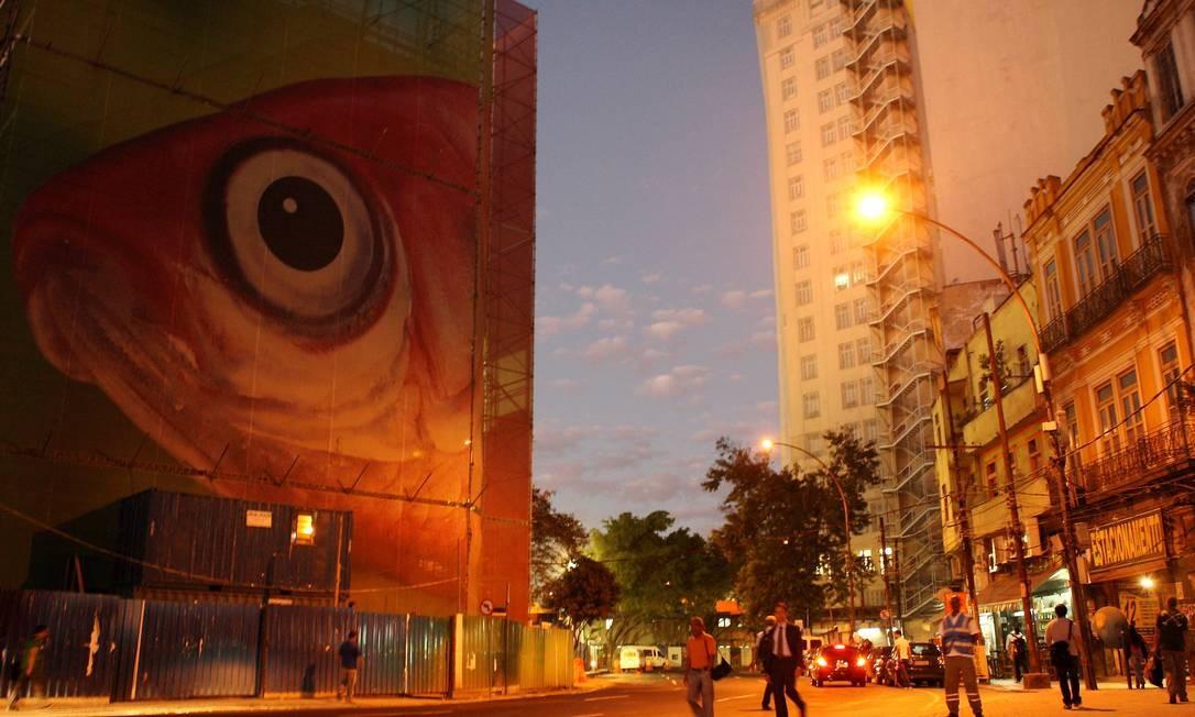 Praça Mauá será o endereço do Museu de Arte do Rio Foto: Angelo Antônio Duarte / O Globo