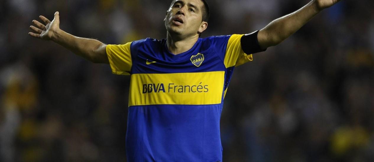 Juan Román Riquelme Foto: AFP