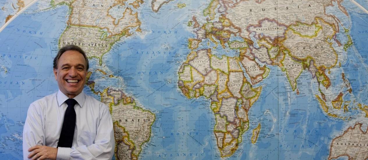 Murilo Ferreira, presidente da Vale e há pouco mais de um ano no cargo: uma nova geografia para os negócios da maior empresa produtora de minério de ferro do mundo Foto: Gustavo Stephan / O Globo