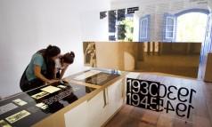 Mostra sobre Drummond na Casa de Cultura até dezembro Foto: Márcia Foletto/Agência O Globo