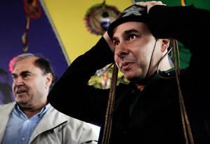 Rodrigo Maia responde inquérito junto com seu pai, o vereador e ex-prefeito do Rio César Maia Foto: Guilherme Leporace / Agência O Globo