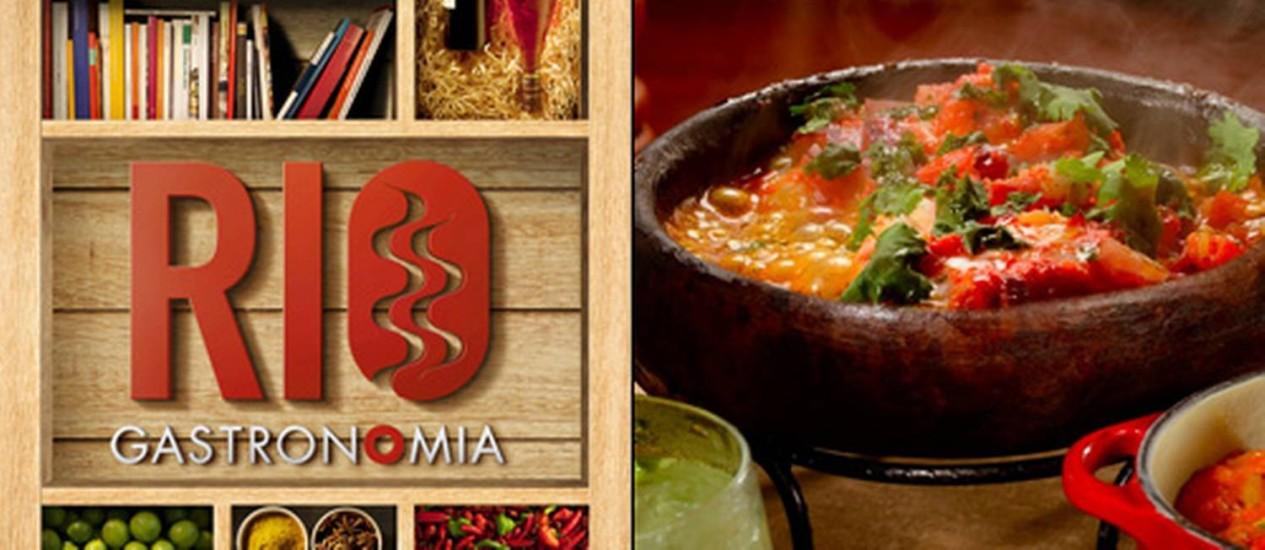 No aplicativo do Rio Gastronomia 2012, vídeos, fotos e notícias pelo celular Foto: Reprodução