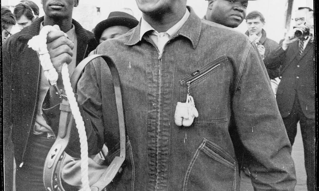 Cassius Clay foi campeão olímpico em Roma, 1960 Arquivo / Agência O Globo