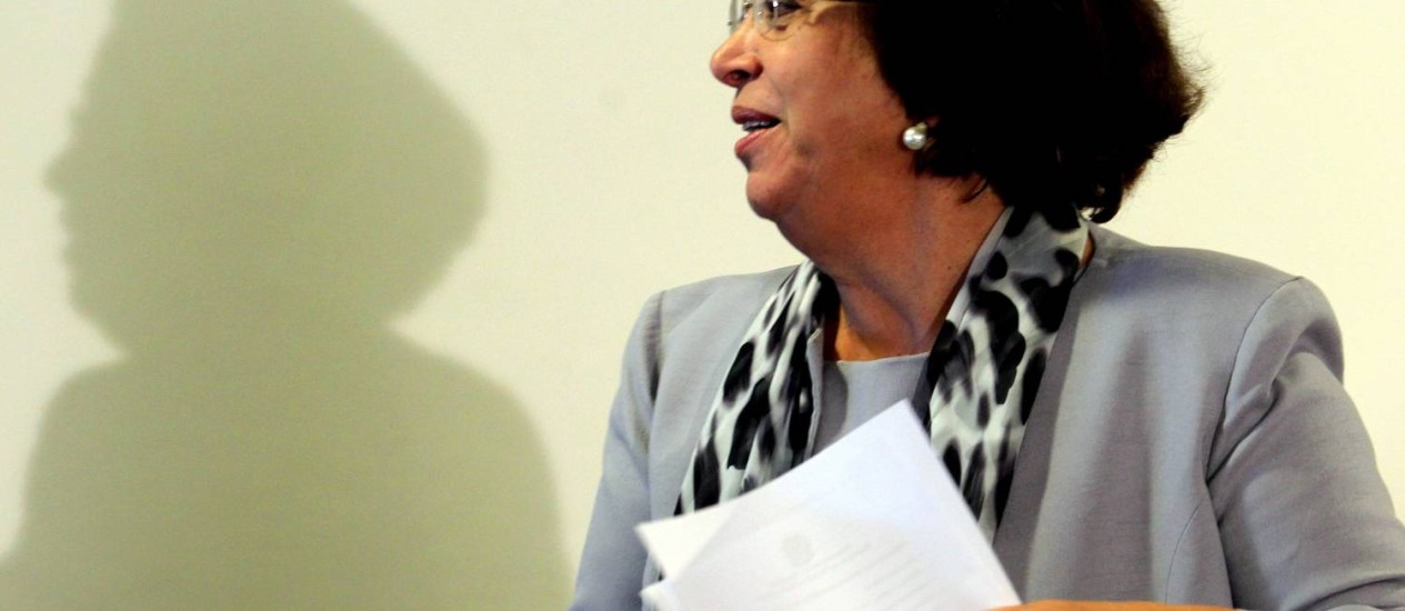 Ministra de Relações Institucionais Ideli Salvatti Foto: Agência O Globo / Gustavo Miranda