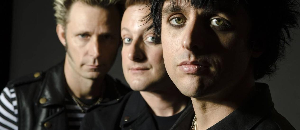 Banda Green Day Foto: Divulgação