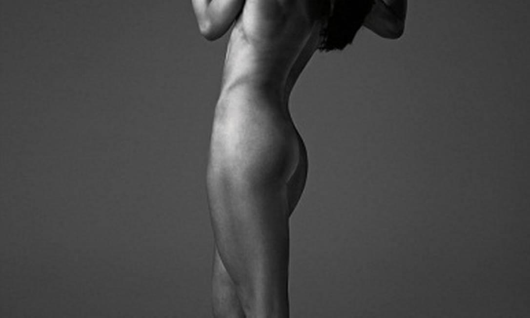 Campeã olímpica em Pequim, a ciclista Victoria Pendleton também posou nua antes dos Jogos Reprodução da internet / Reprodução da internet
