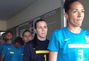 A seleção brasileira em 2012 Foto: Divulgação / CBF
