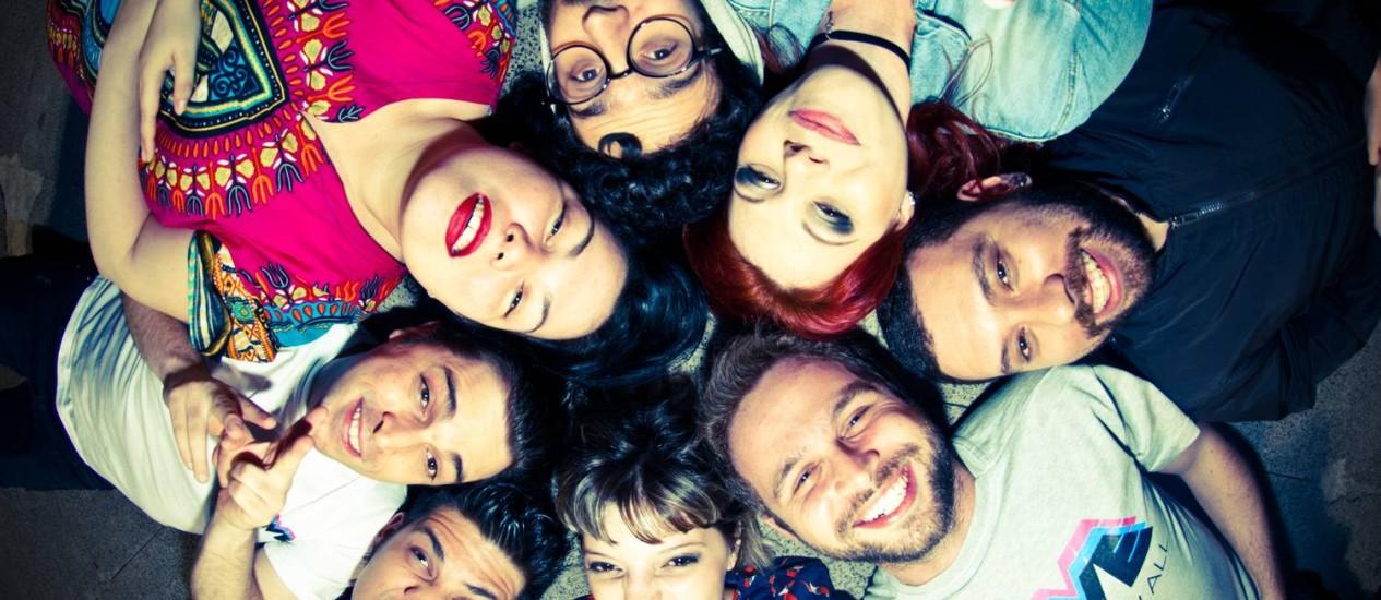 Os produtores da festa Move, que rola sexta-feira (13), em Laranjeiras Foto: Carolina Luz / Divulgação