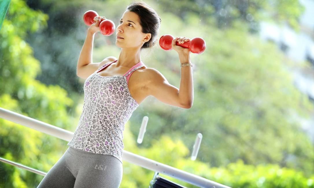 Exercício no inverno queima mais calorias que no verão Foto: Márcia Foletto / Agência O Globo