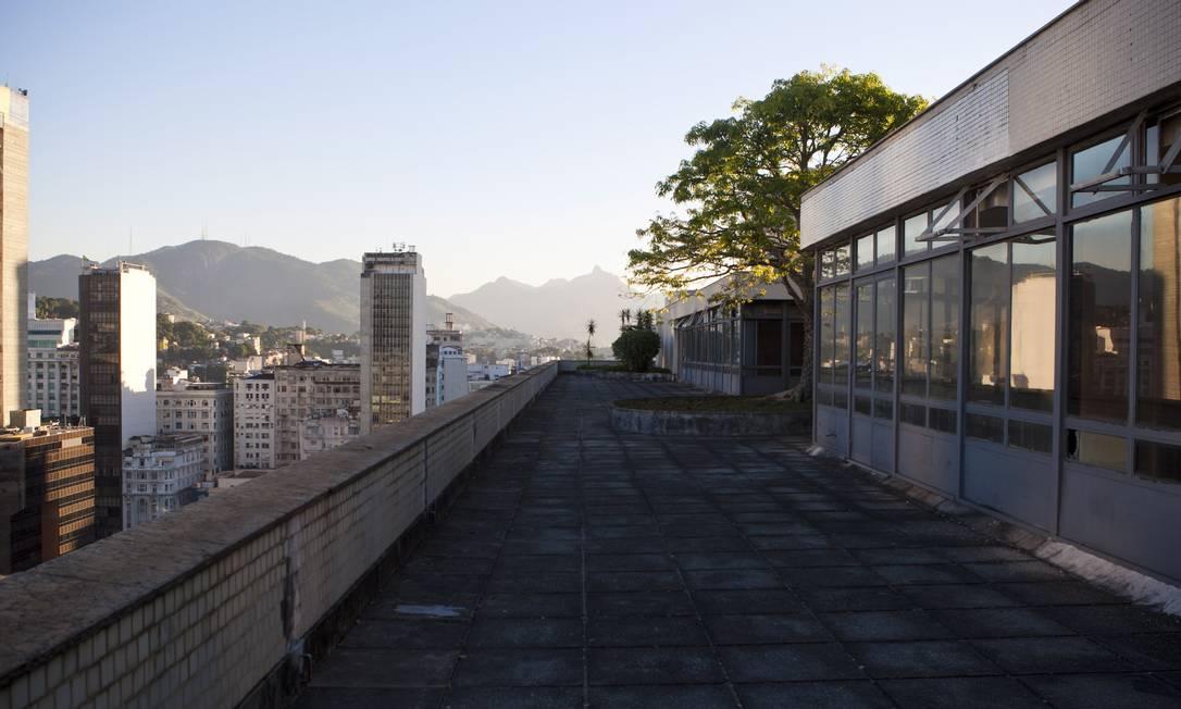 A cobertura do 'Prédio do MEC' pode receber um restaurante após a reforma Laura Marques / O Globo