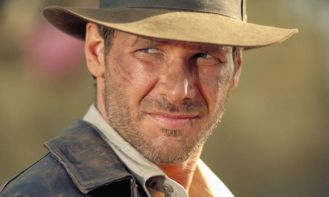 Ele também é o eterno herói Indiana Jones, que tem uma quinta sequência prevista para 2020, com Steven Spielberg na direção Foto: Divulgação