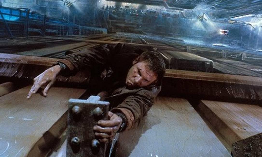 Ford protagonizou, em 1982, 'Blade Runner, o Caçador de Andróides', de Ridley Scott Foto: Divulgação/IMDB