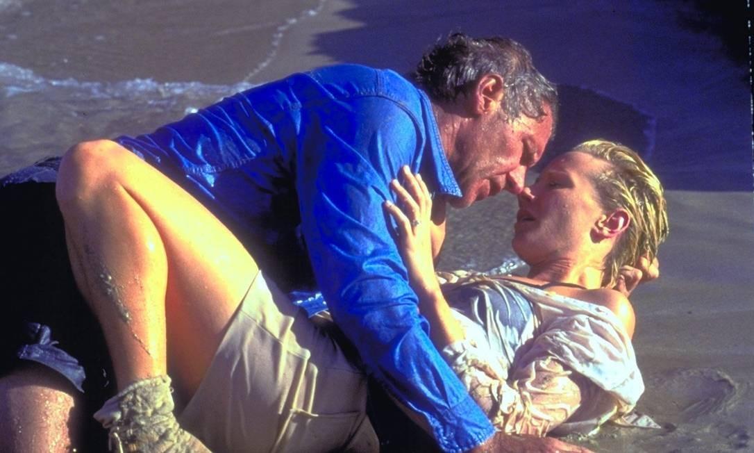 E 'Sete dias e sete noites', comédia romântica com Anne Reche, em 1998 Foto: Divulgação/IMDB