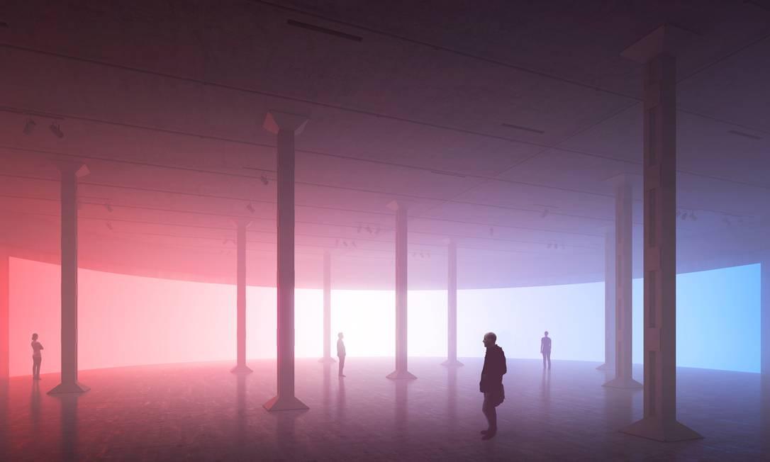 Ala leste do espaço The Tanks, espaço dedicado a performance e live art na Tate Modern, que será inaugurado no dia 18 de julho Divulgação