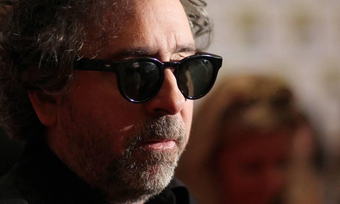 """Tim Burton, diretor de """"Frankenweenie"""", também participou da conferência de imprensa da Disney durante a Comic-Con. O filme estreia dia 2 de novembro no Brasil. AP"""