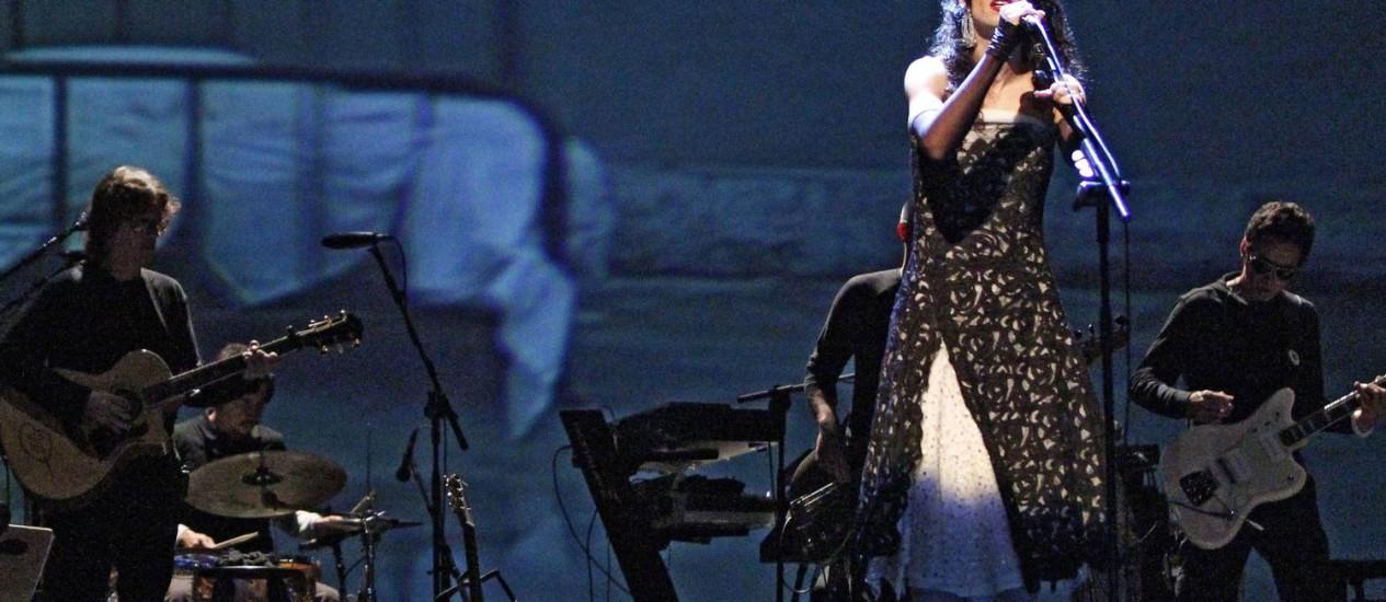 Marisa Monte se apresenta na turnê 'Verdade uma ilusão' Foto: Leonardo Aversa
