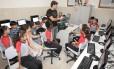 Apesar de ter apenas um laboratório de informática, a escola José Novaes garantiu boa nota no Ideb