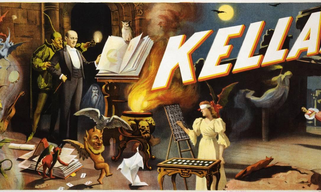 Museu da Magia (Paris, França). Autômatos, sarcófagos egípcios, ilusões óticas, jogos de cartas... um passeio pelos subterrâneos de Paris revela os segredos de magos como Kellar ou Houdini Divulgação