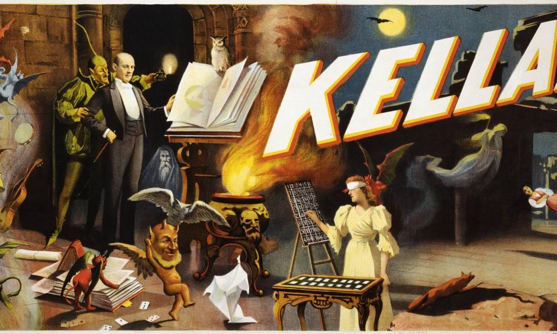 Museu da Magia (Paris, França). Autômatos, sarcófagos egípcios, ilusões óticas, jogos de cartas... um passeio pelos subterrâneos de Paris revela os segredos de magos como Kellar ou Houdini Foto: Divulgação
