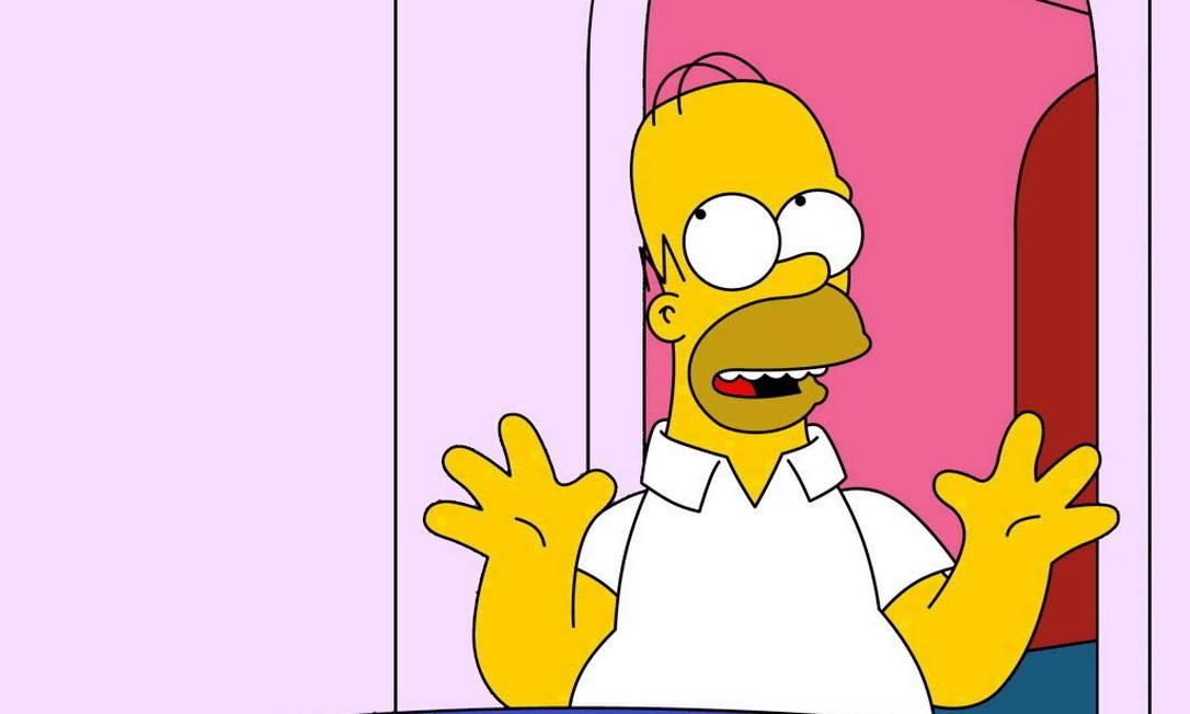 Homer Simpson diz que gostaria de vir ao Brasil 'sem que todos tentassem me matar'