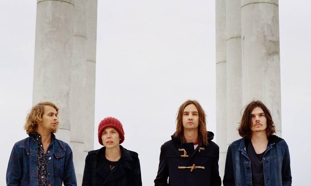 A banda australiana Tame Impala lança um bom segundo disco Foto: Divulgação