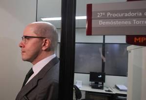 Demóstenes Torres foi cassado pelo Senado Foto: O Globo/Arquivo