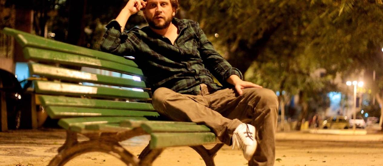 """Eryk Rocha foge das convenções de documentários sobre músicos em """"Jards"""", filme já em finalização sobre o cantor Jards Macalé Foto: Pedro Kirilos / Agência O Globo"""