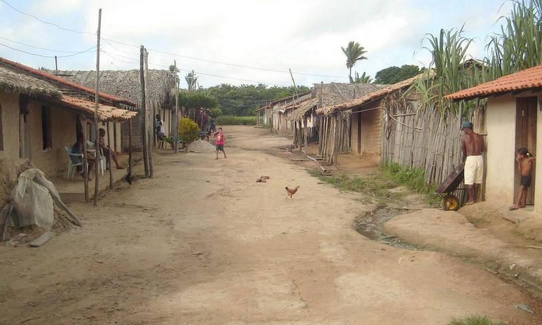 São José, localidade pobre de Governador Newton Bello, município do Maranhão com um dos piores IDHs do país Foto: Oswaldo Viviani (2008) / O Globo