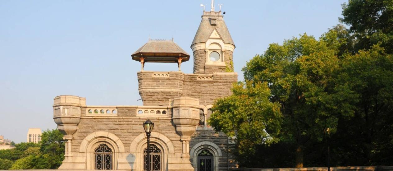 O Castelo Belvedere, uma das atrações escondidas no Central Park: inspiração europeia, mas sem exclusividade à aristocracia como ocorria em Londres e Paris Foto: Terceiro / Fotos de Sara Cedar Miller/Central Park Conservancy