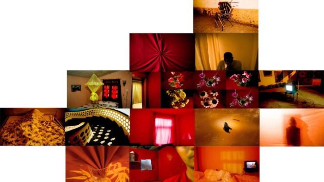 """""""Hotel Tropical Vermelho"""" (2011), de João Castilho: um lugar fictício feito de imagens de lugares reais Foto: Divulgação/João Castilho"""