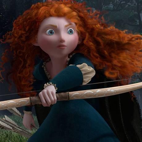 Cena da animação da Disney 'Valente' Foto: Divulgação