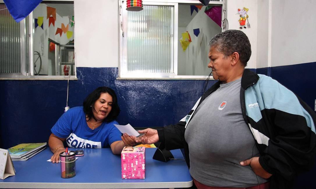 Centro social ligado a vereador Teresa Bergher Foto: O Globo
