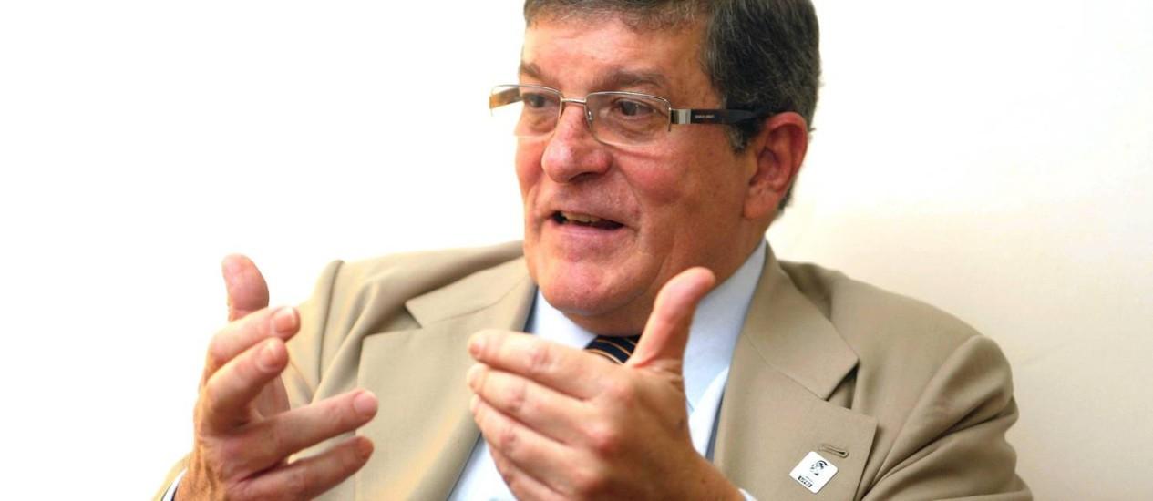 Professor Aloísio Teixeira foi reitor da UFRJ entre 2003 e 2011 Foto: William Moura / Agência O Globo