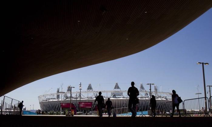 Ao fundo, o Estádio Olímpico que receberá a cerimônia de abertura na sexta-feira Ivo Gonzalez / O Globo