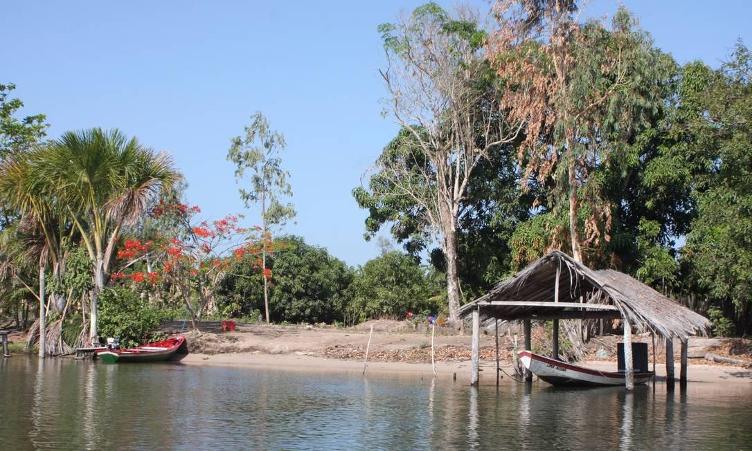 A beira do Rio Preguiças Foto: Bruno Agostini / O Globo